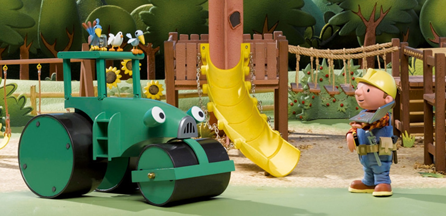 Bob The Builder - Bob On Site - Homes And Playgrounds