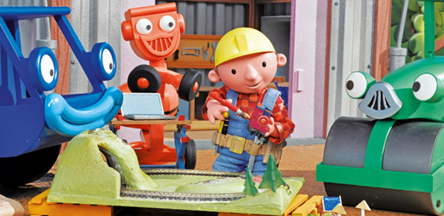 Bob The Builder - Bob On Site - Trains And Tree Houses