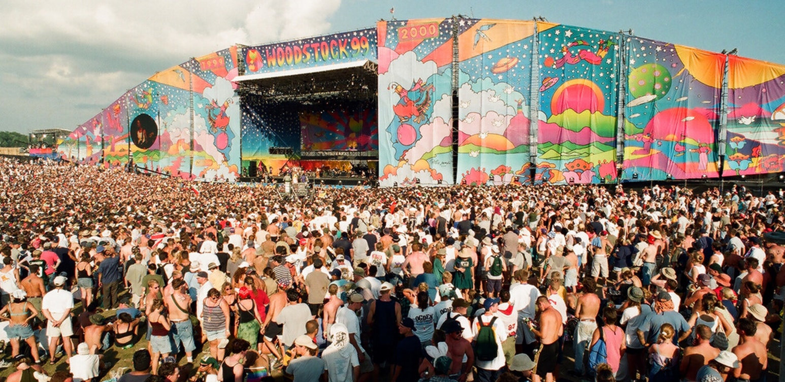 Woodstock 99: Peace, Love and Rage