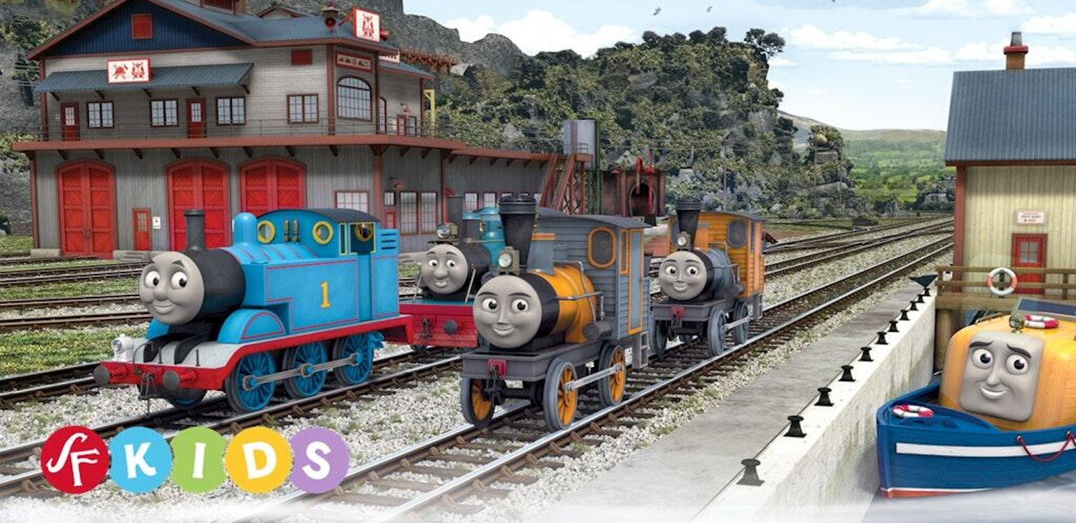 Thomas and Friends Misty Island Rescue