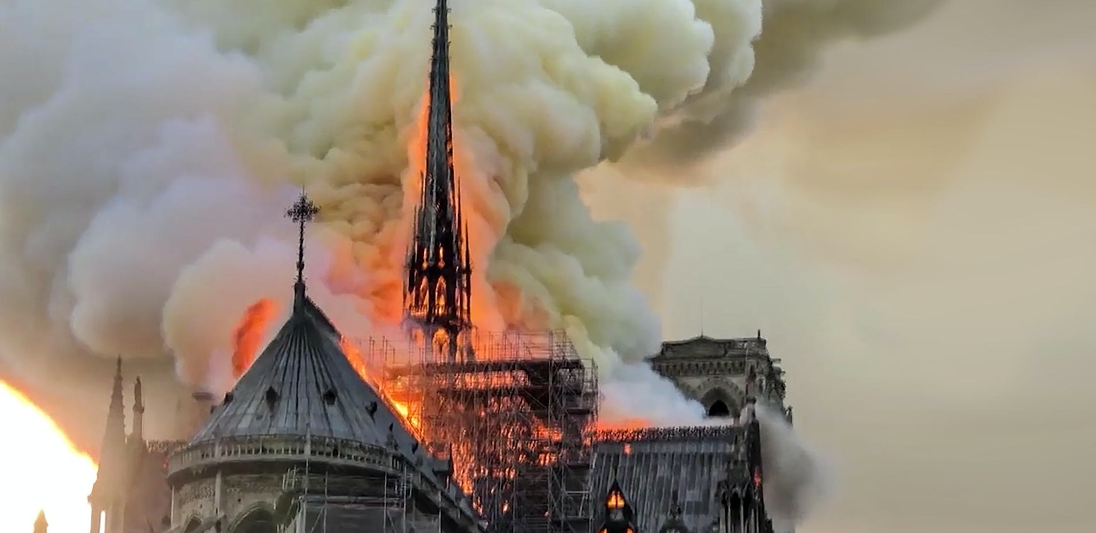 Notre Dame: In Flames